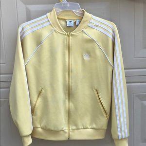 Yellow Addidas Jacket